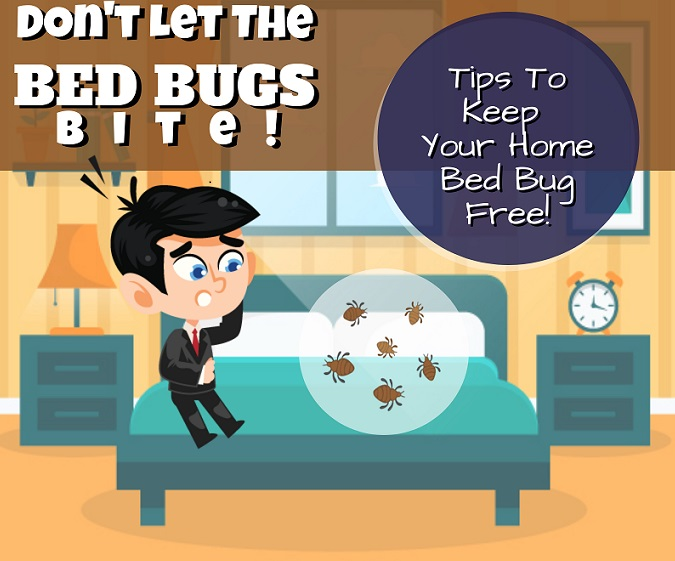 Image showing psychological effects of bedbugs